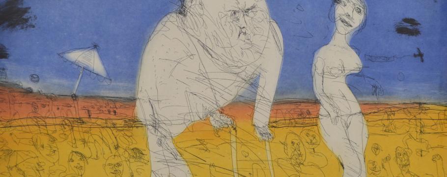 Influential British artist features in specialist print